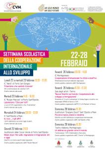 manifesto settimana della cooperazione