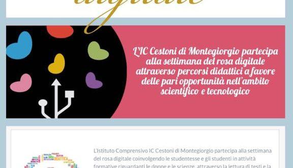 """SETTIMANA DEL ROSA DIGITALE IC """"CESTONI"""" 01-31 MARZO 2018"""