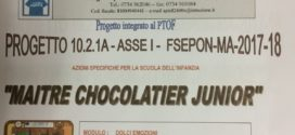 "PROGETTO 10.2.1A – ASSE I – FSEPON – MA – 2017-18 ""MAITRE CHOCOLATIER JUNIOR"""