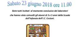 PON COMPETENZE DI BASE: INVITO FESTA FINALE