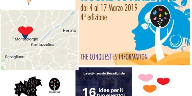 SETTIMANA DEL ROSA DIGITALE: 4^ EDIZIONE 4 – 17 MARZO 2019