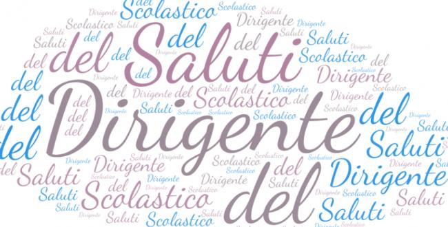 SALUTO DEL NUOVO DIRIGENTE SCOLASTICO